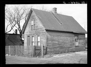 Cottages. Jones Island. Milwaukee, Wisconsin