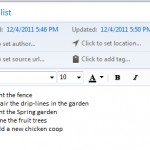 Evernote is great for maintaining to-do lists
