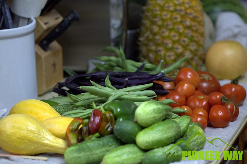 Nothing like fresh vegetables from the garden!