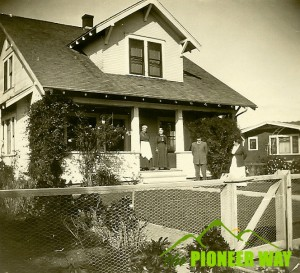 Early 1920's home in San Diego, California